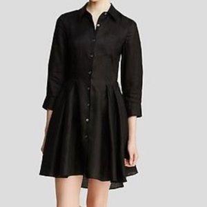 Theory Silk Button Down Dress